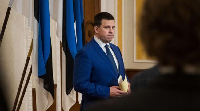 Estonya Başbakanı istifa etti