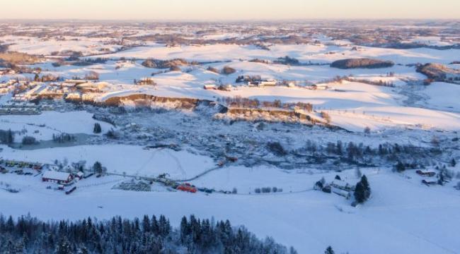 Norveç'teki heyelanda can kaybı 7'ye yükseldi