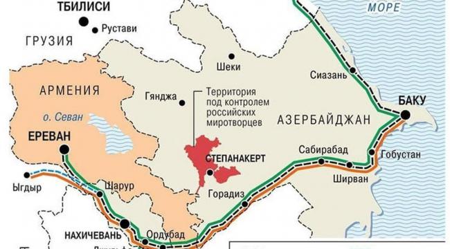 Rus basını kritik haritayı yayınladı