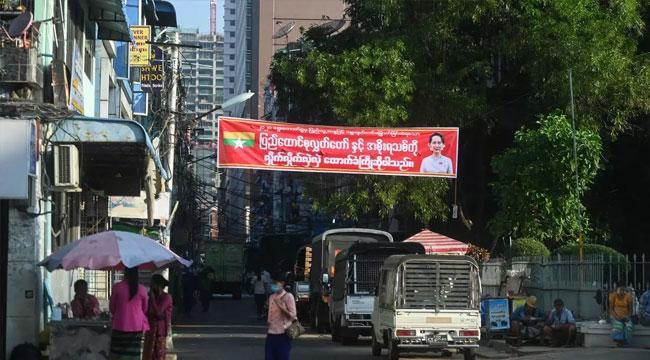 Myanmar'da yaşayan Türk vatandaşlarına sokağa çıkmamaları uyarısı