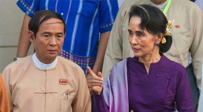 Myanmar lideri ve devlet başkanı gözaltına alındı