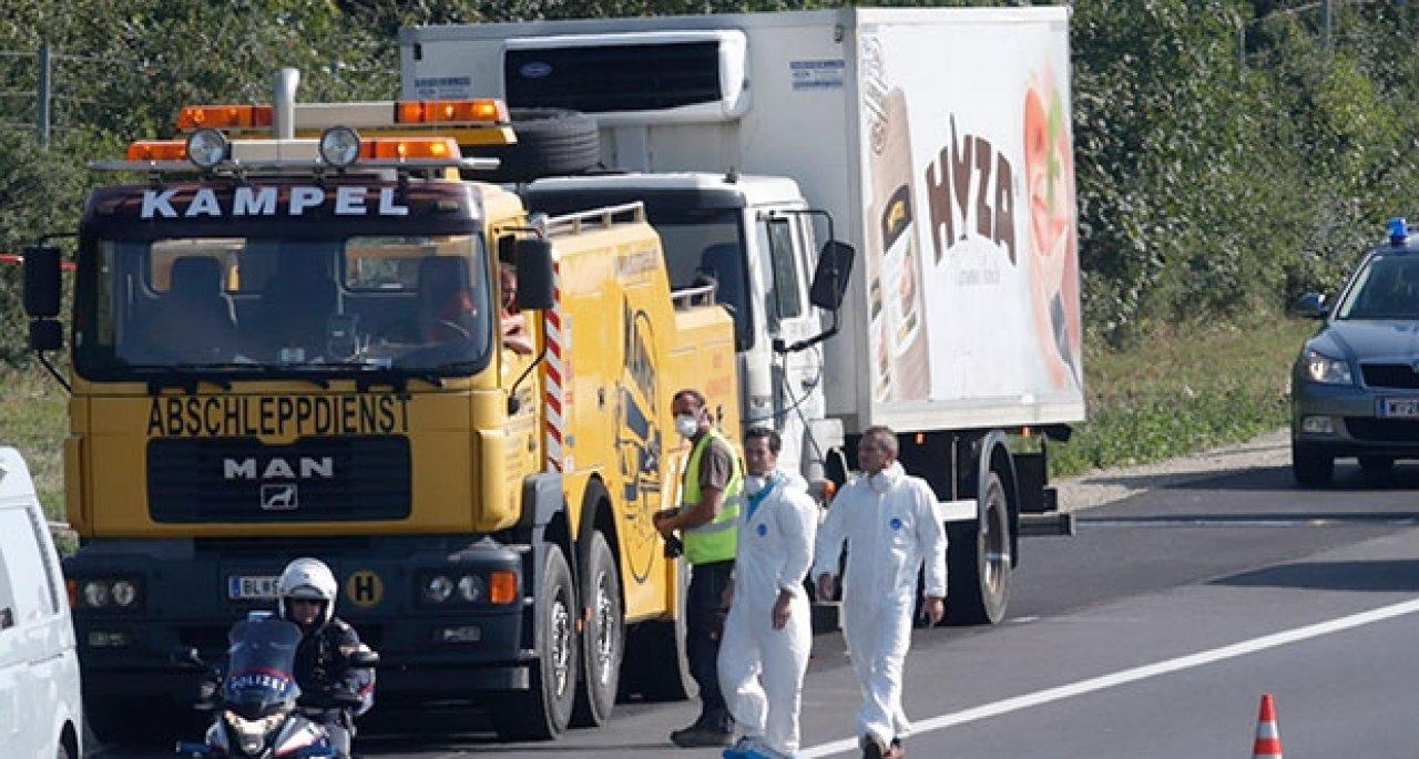 100 bin avro için 71 sığınmacıyı soğuk hava kamyonunda ölüme götürmüşler