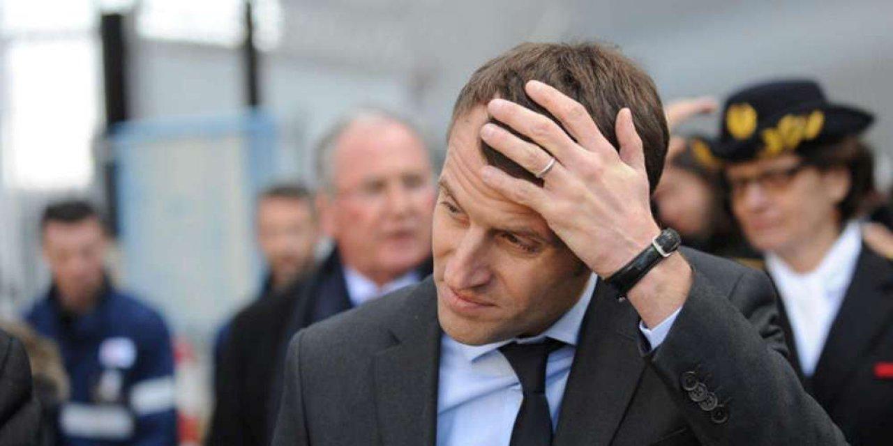 'Fransa'da halkın yüzde 60'ı Cumhurbaşkanı Macron'dan memnun değil'